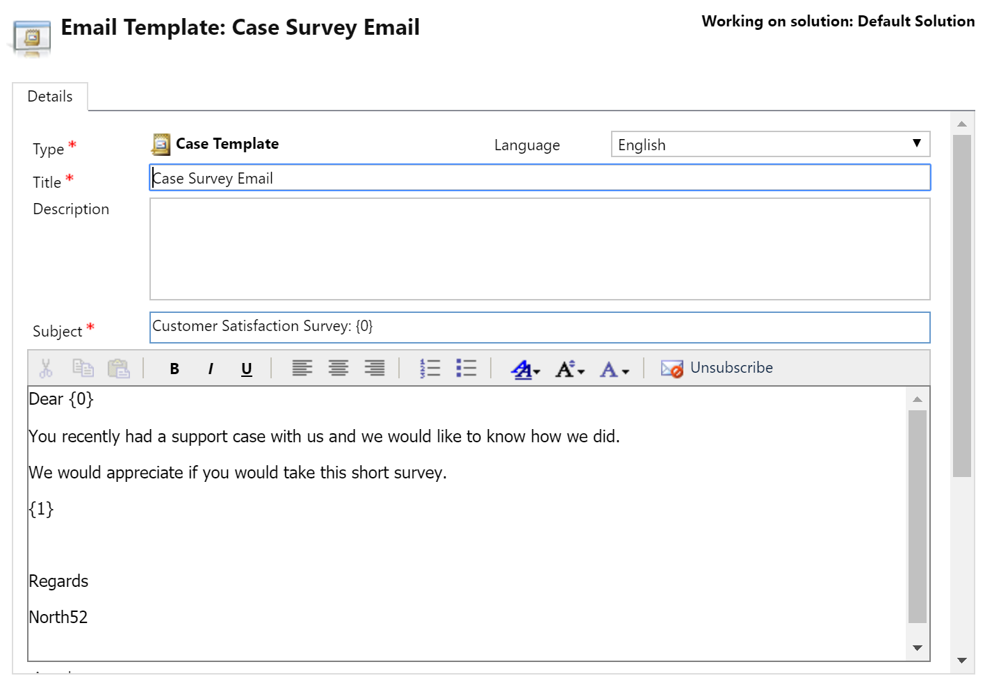 Customer Survey Email Template. sending out a better survey email ...