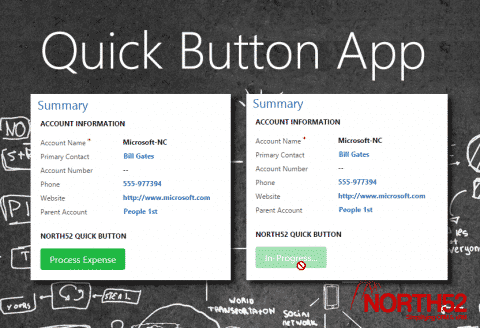 Quick Button App Splash